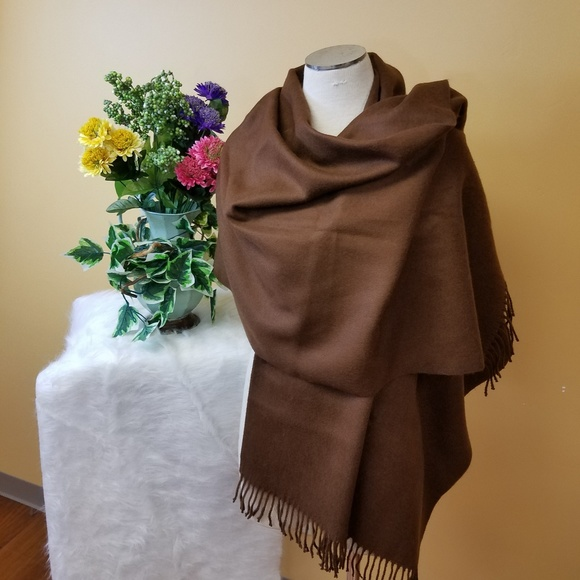 Accessories - Extra large brown scarf